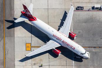 N634VA - Virgin America Airbus A320