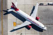 N634VA - Virgin America Airbus A320 aircraft