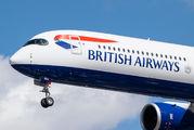 G-XWBA - British Airways Airbus A350-1000 aircraft