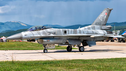 4056 - Poland - Air Force Lockheed Martin F-16CJ Fighting Falcon