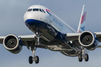 G-TTNF - British Airways Airbus A320 NEO