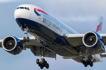G-VIIH - British Airways Boeing 777-200