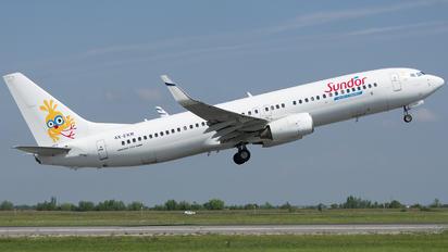 4X-EKR - Sun d'Or International Airlines Boeing 737-800