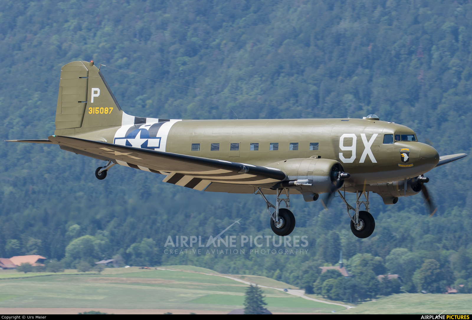 Private N150D aircraft at Grenchen