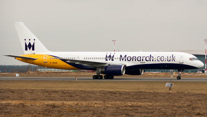 G-MONK - Monarch Airlines Boeing 757-200