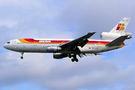 Iberia McDonnell Douglas DC-10-30 EC-CEZ at HKG - Kai Tak Intl CLOSED airport