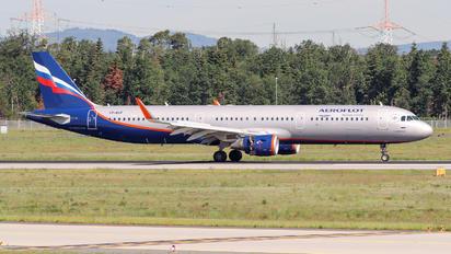 VP-BAF - Aeroflot Airbus A321