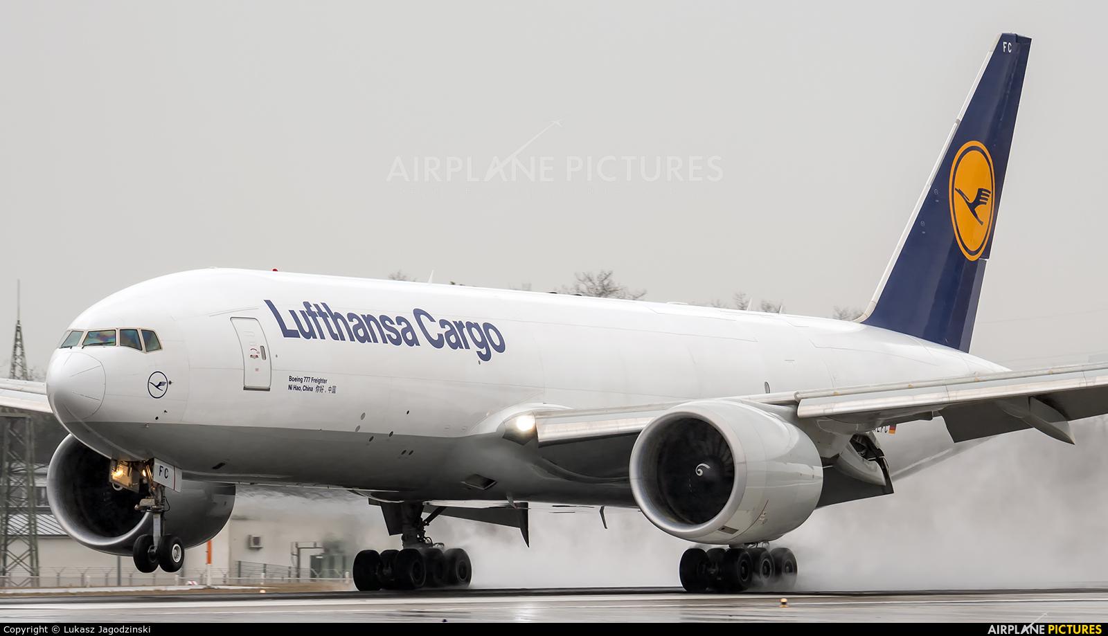 Lufthansa Cargo D-ALFC aircraft at Warsaw - Frederic Chopin