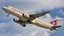 A7-AHG - Qatar Airways Airbus A320 aircraft