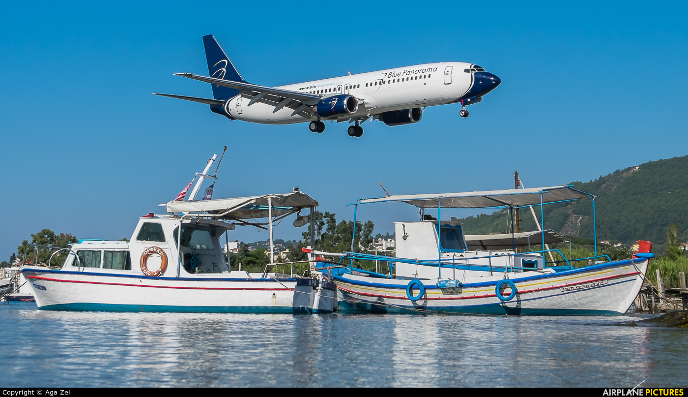 Blue Panorama Airlines I-LCFC aircraft at Skiathos