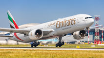 A6-EGH - Emirates Airlines Boeing 777-300ER aircraft