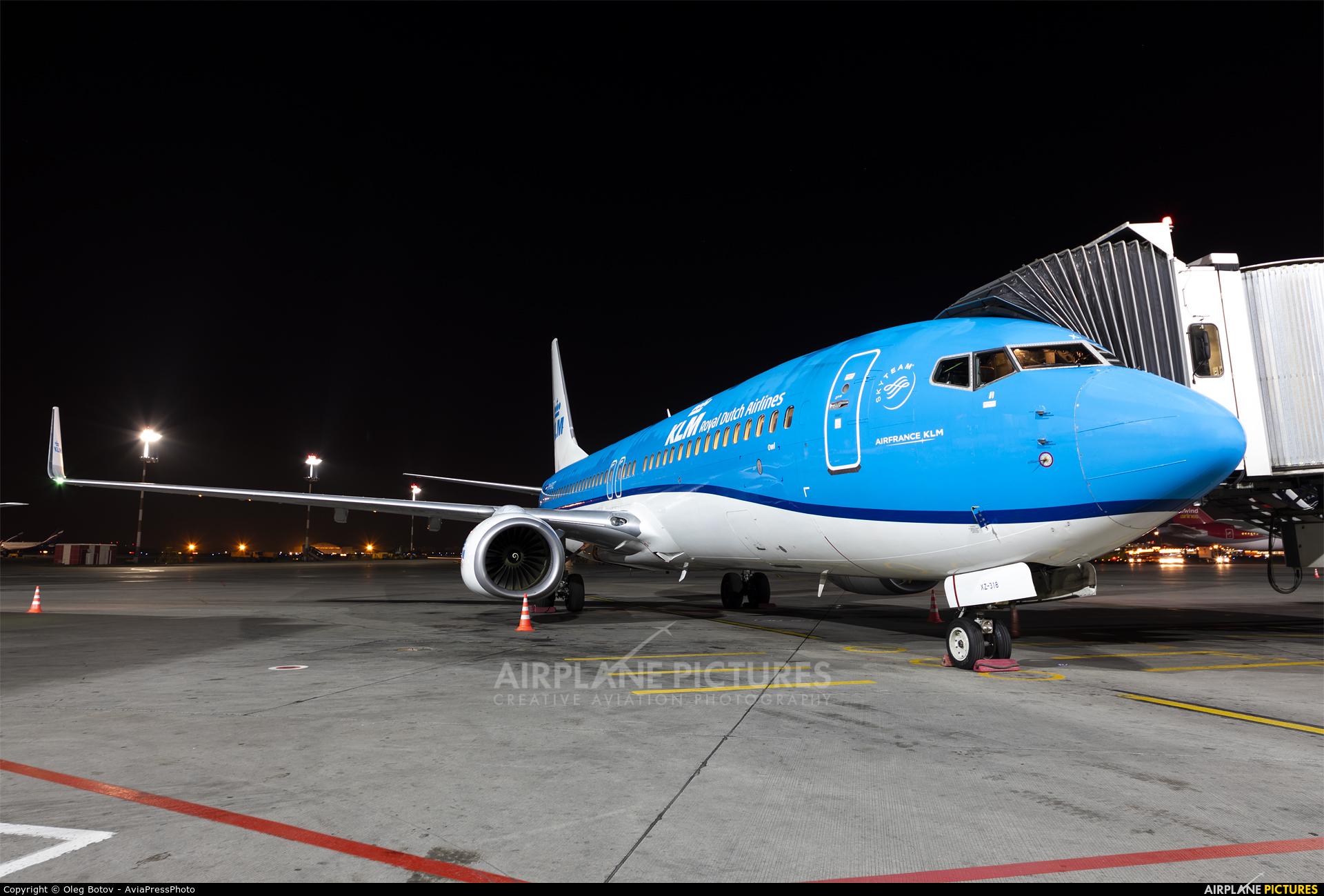 KLM PH-BXZ aircraft at Moscow - Sheremetyevo