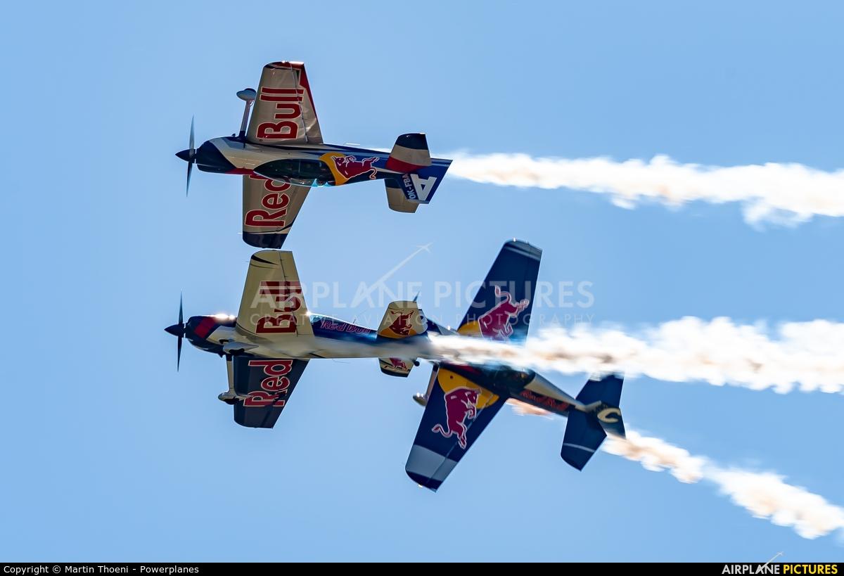 The Flying Bulls : Aerobatics Team OK-FBA aircraft at Grenchen