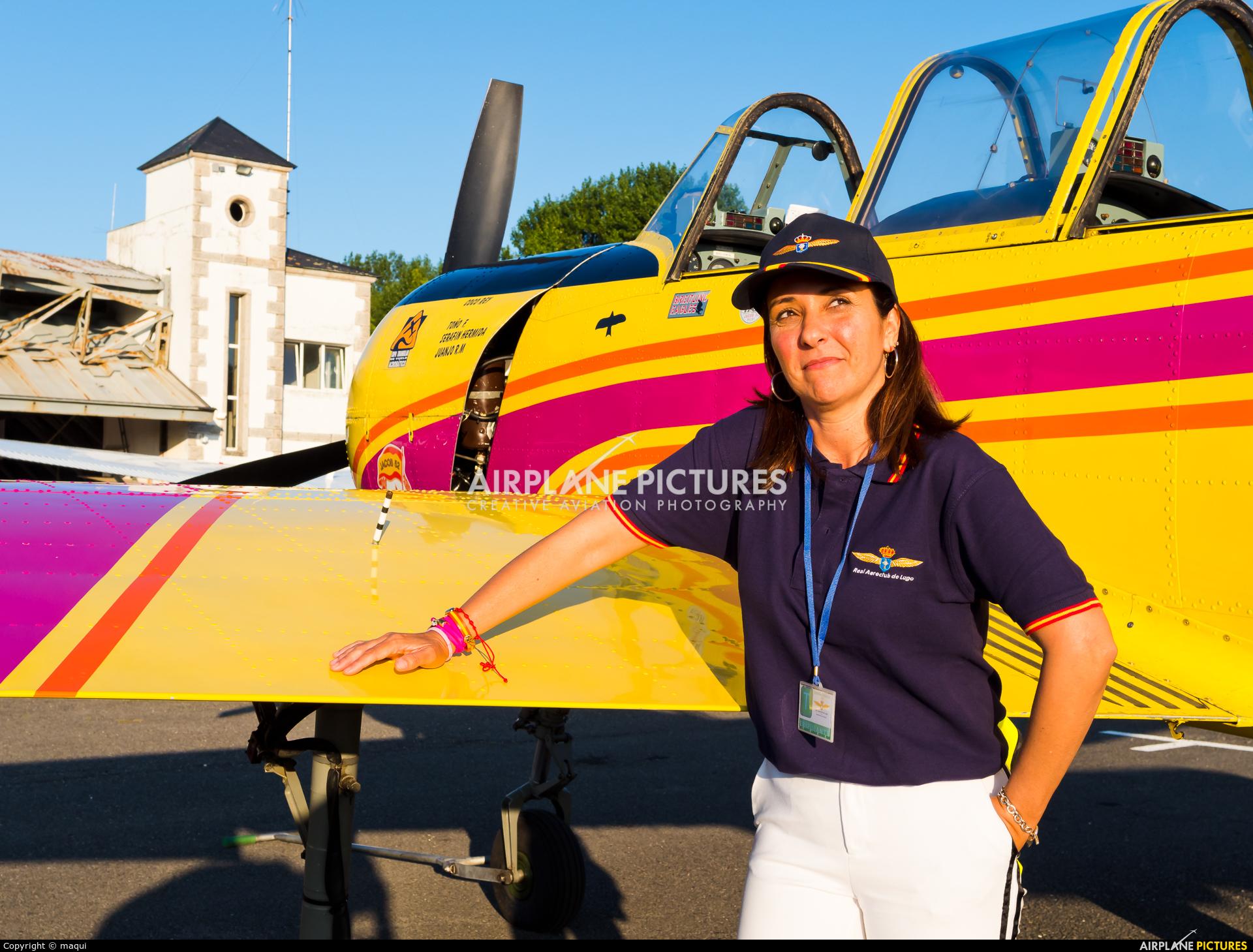 - Aviation Glamour EC-IAS aircraft at Lugo - Rozas