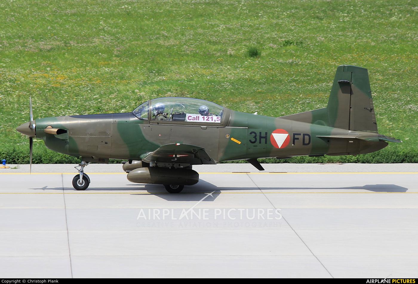 Austria - Air Force 3H-FD aircraft at Innsbruck