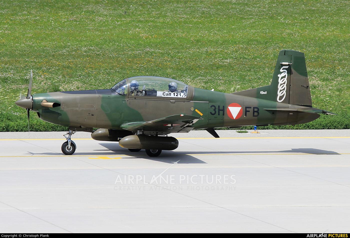 Austria - Air Force 3H-FB aircraft at Innsbruck