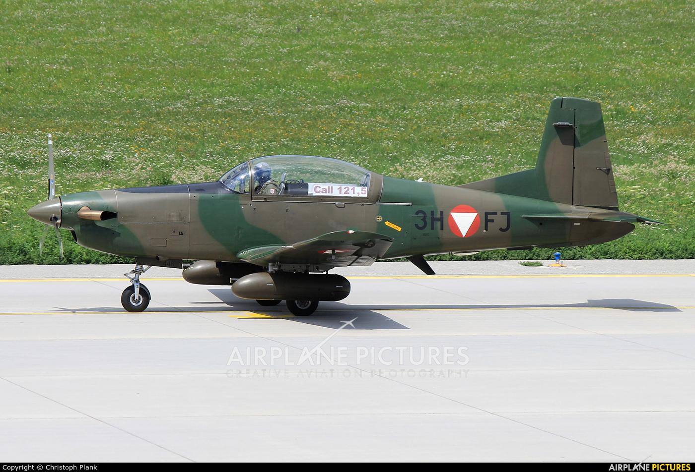 Austria - Air Force 3H-FJ aircraft at Innsbruck