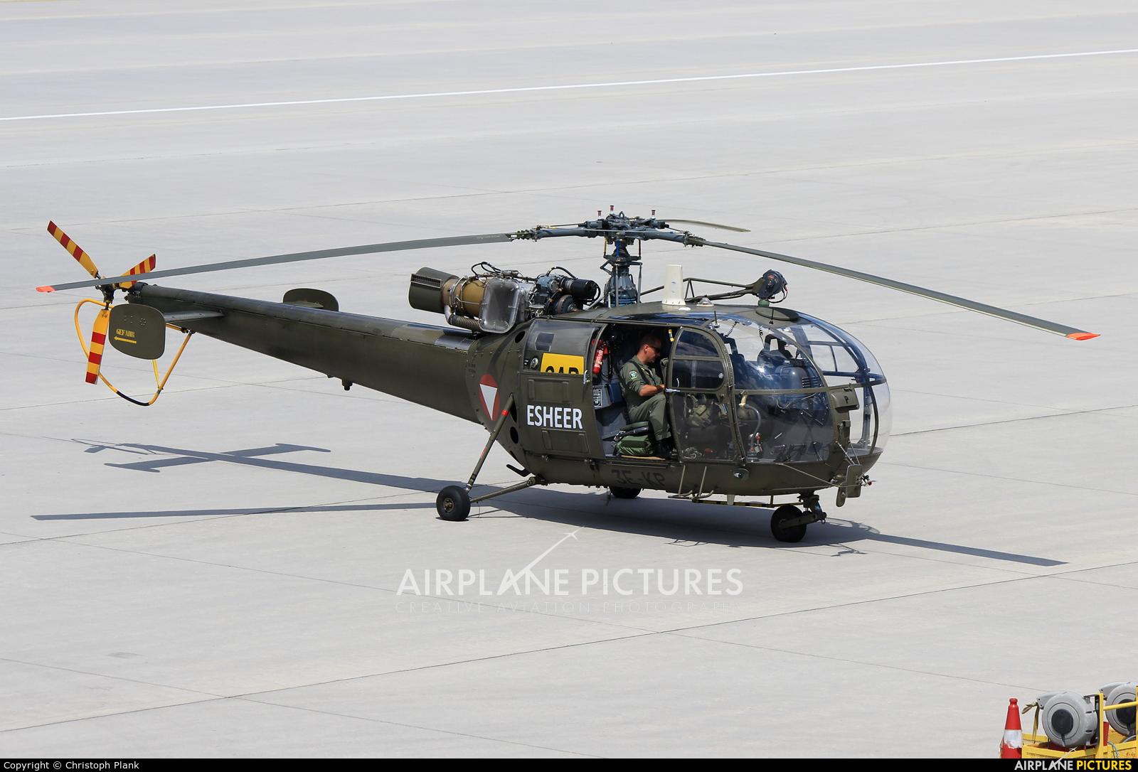 Austria - Air Force 3E-KP aircraft at Innsbruck