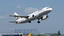 SX-DVW - Aegean Airlines Airbus A320 aircraft