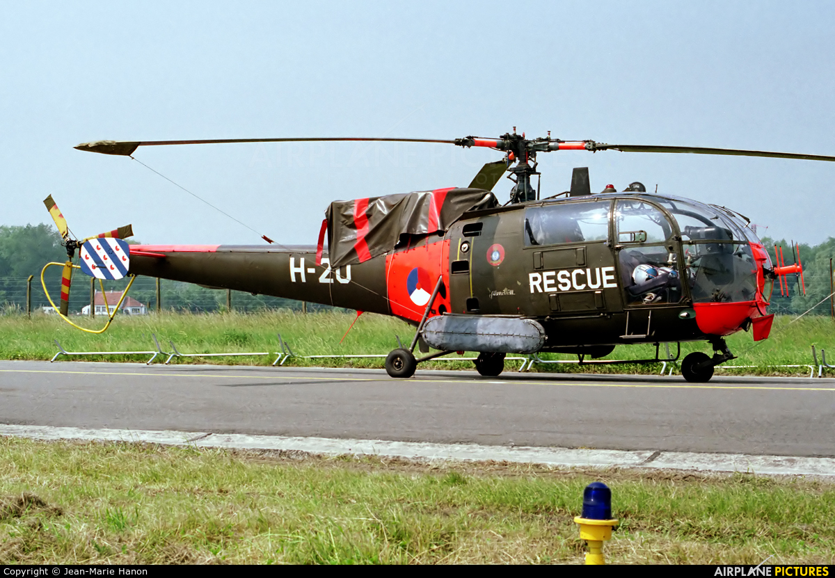 Netherlands - Air Force H-20 aircraft at Koksijde