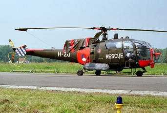 H-20 - Netherlands - Air Force Sud Aviation SA-316 Alouette III