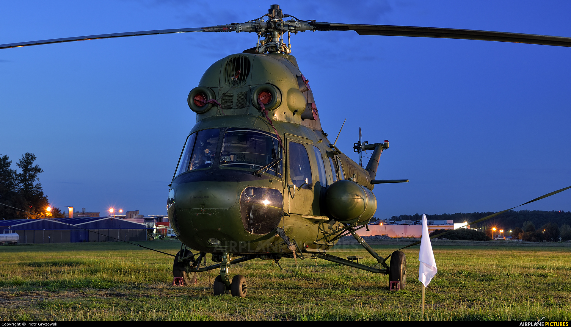 Poland - Army 3803 aircraft at Katowice Muchowiec