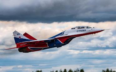 "RF-91946 - Russia - Air Force ""Strizhi"" Mikoyan-Gurevich MiG-29UB"