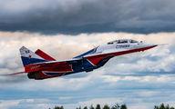 "RF-91946 - Russia - Air Force ""Strizhi"" Mikoyan-Gurevich MiG-29UB aircraft"