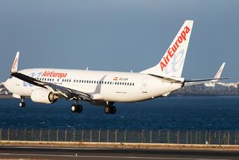 EC-LVR - Air Europa Boeing 737-800