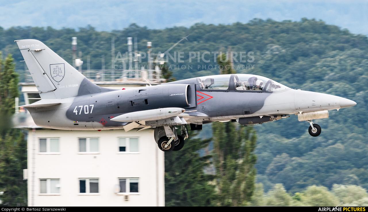 Slovakia -  Air Force 4707 aircraft at Sliač