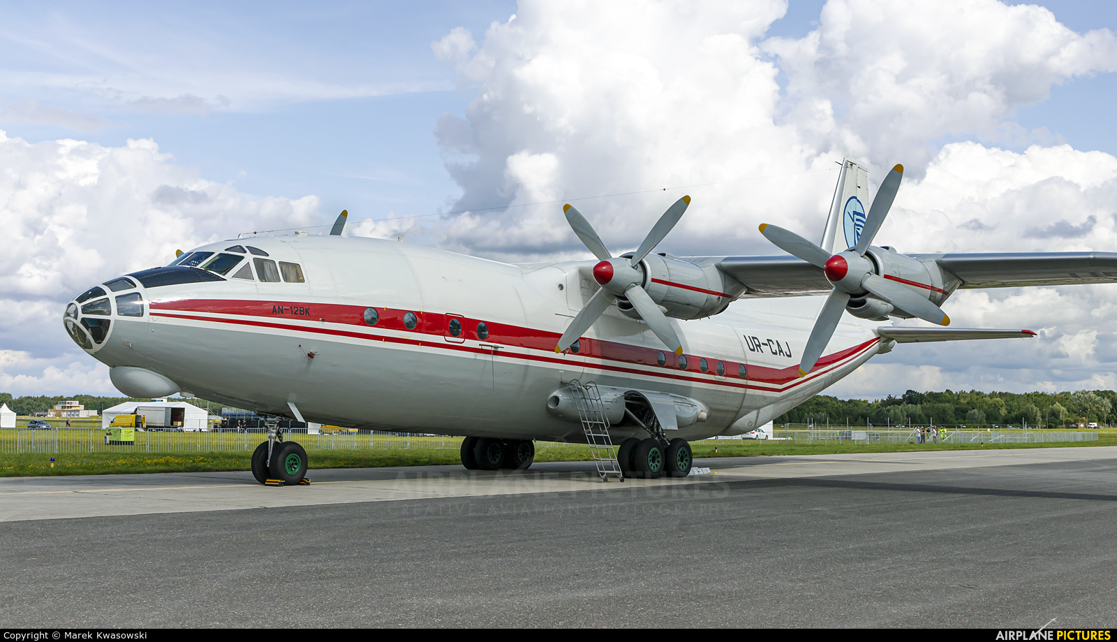 Ukraine Air Alliance UR-CAJ aircraft at Gdynia- Babie Doły (Oksywie)