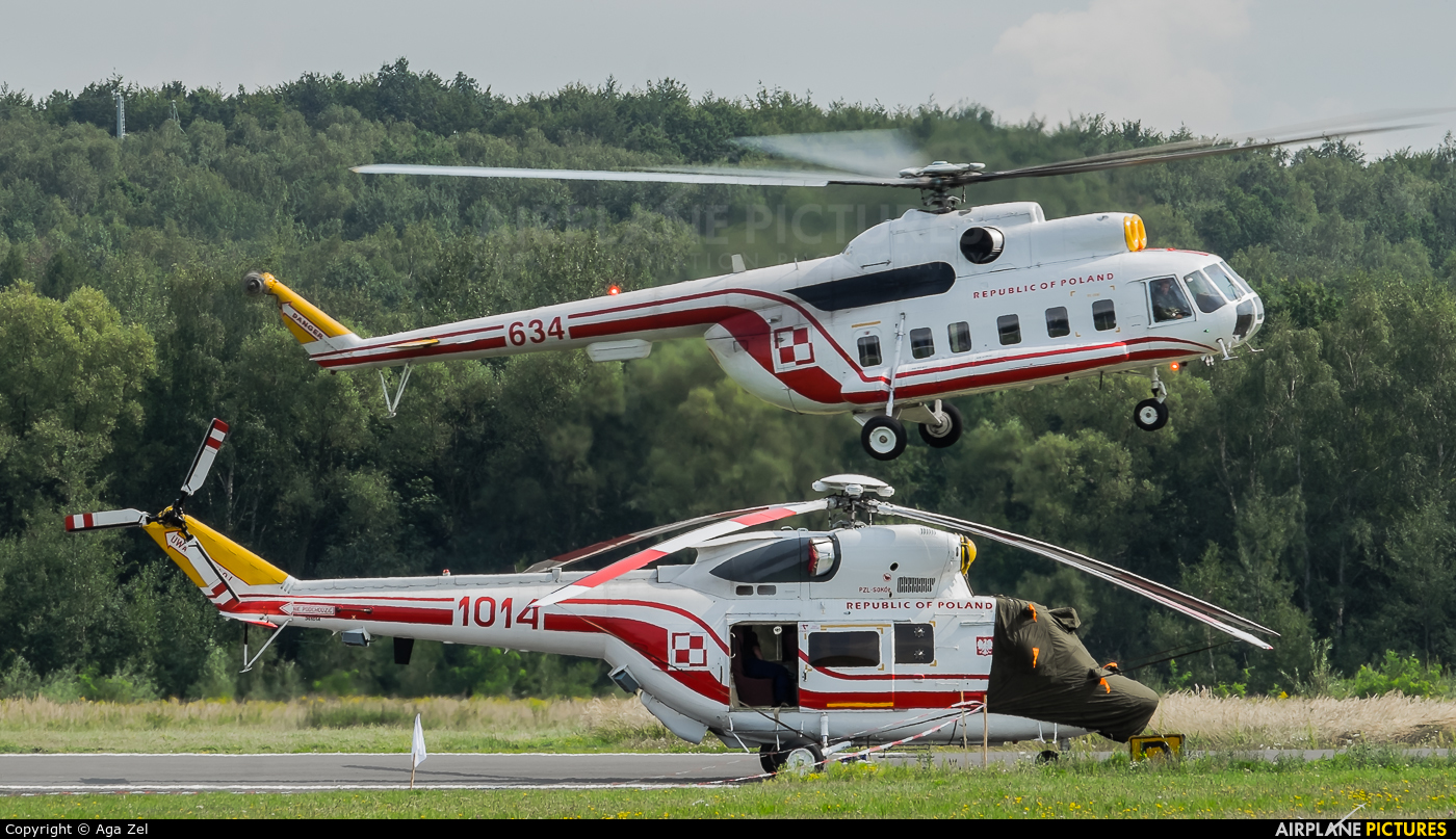 Poland - Air Force 1014 aircraft at Katowice Muchowiec