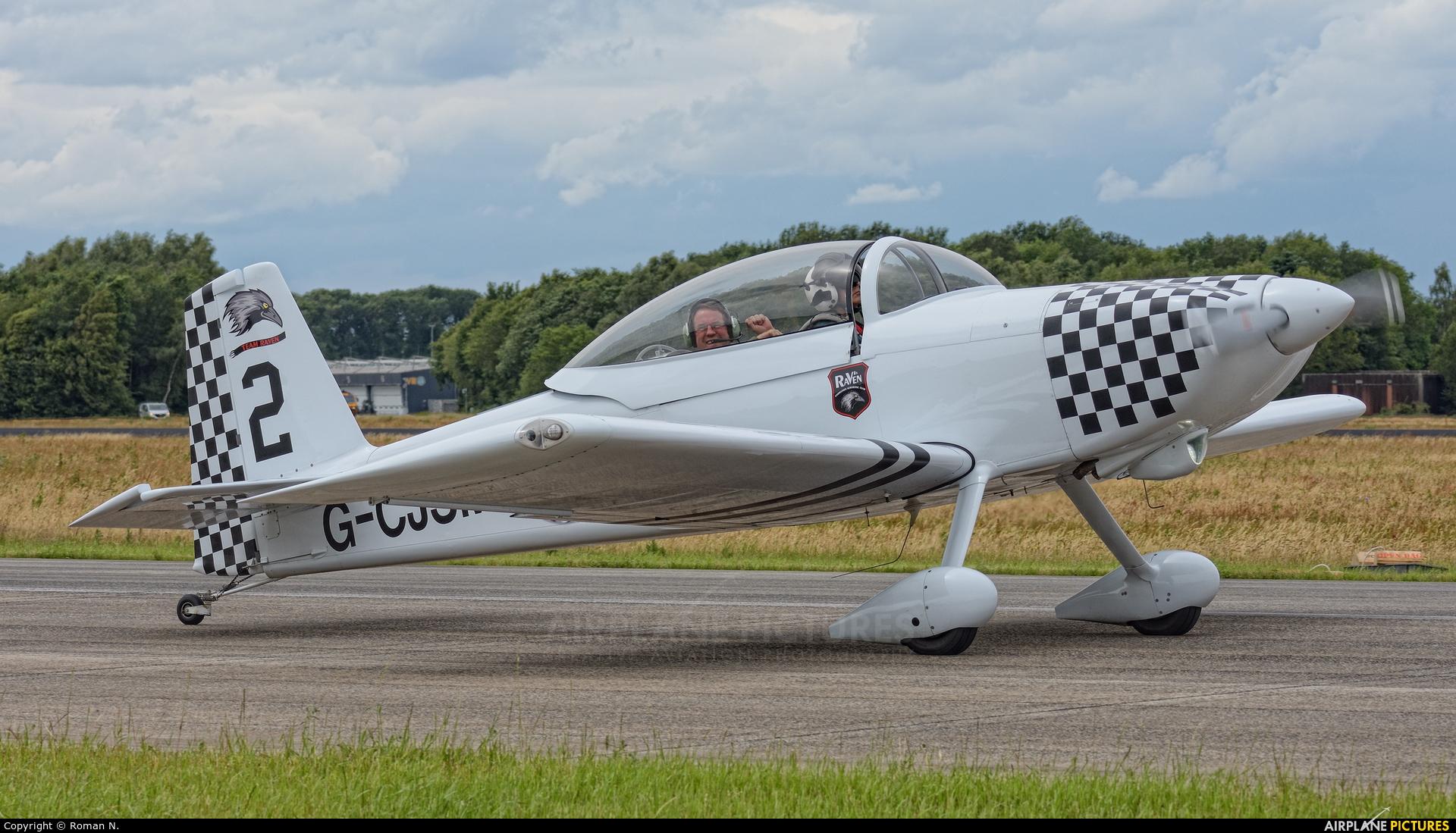 Team Raven G-CJSM aircraft at Uden - Volkel