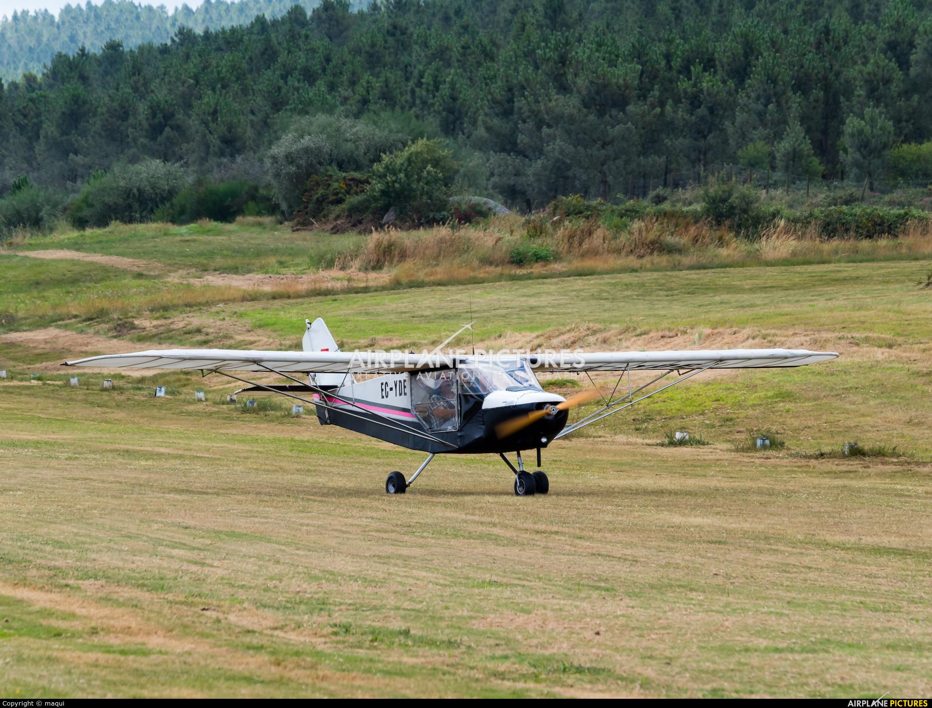 Private EC-YDE aircraft at Aerodromo De Mazaricos