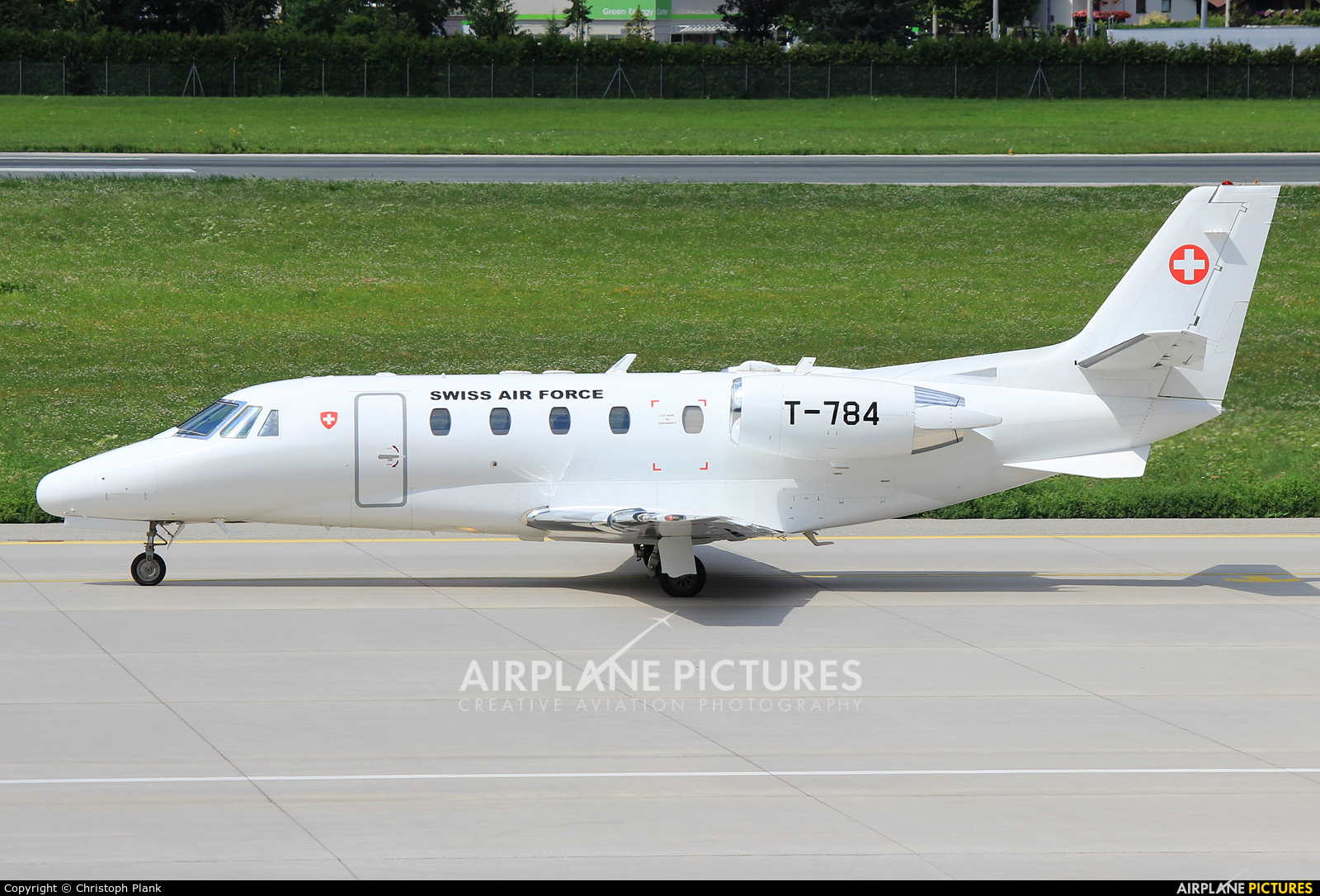 Switzerland - Air Force T-784 aircraft at Innsbruck