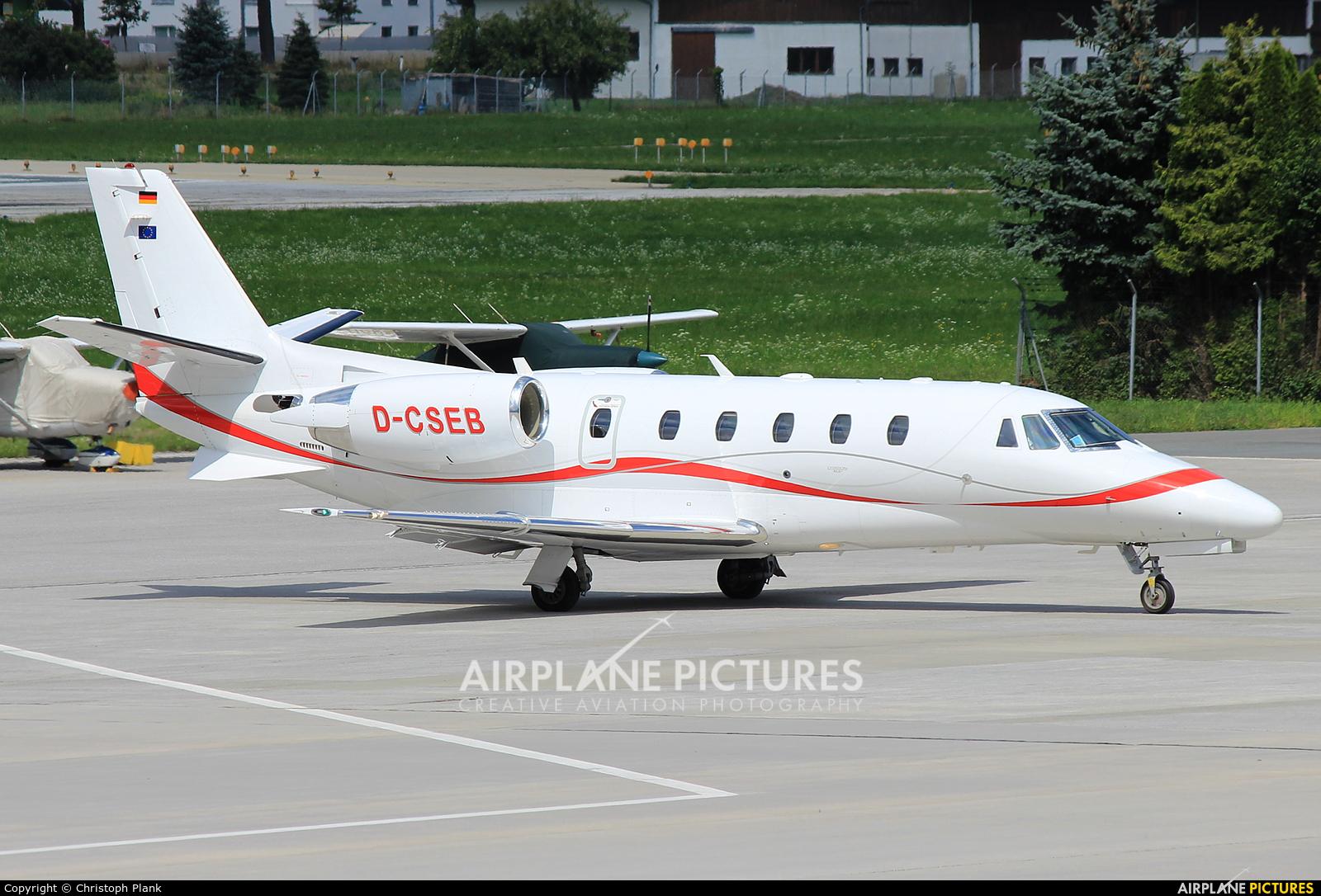 Private D-CSEB aircraft at Innsbruck