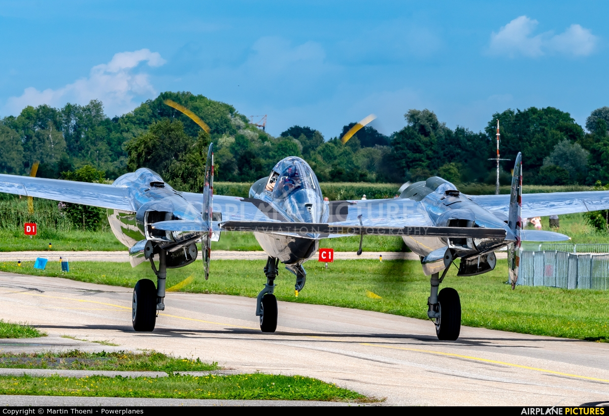 The Flying Bulls N25Y aircraft at Grenchen