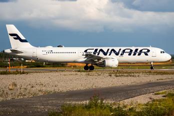 OH-LZD - Finnair Airbus A321