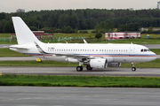 Global Jet Luxembourg A319CJ visited St. Petersburg title=