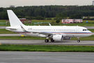 Global Jet Luxembourg A319CJ visited St. Petersburg