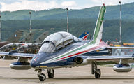 "MM54551 - Italy - Air Force ""Frecce Tricolori"" Aermacchi MB-339-A/PAN aircraft"