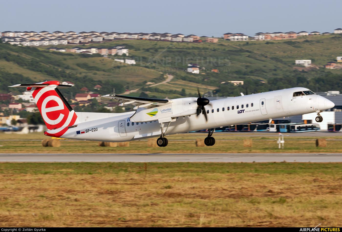 LOT - Polish Airlines SP-EQG aircraft at Cluj Napoca - Someseni