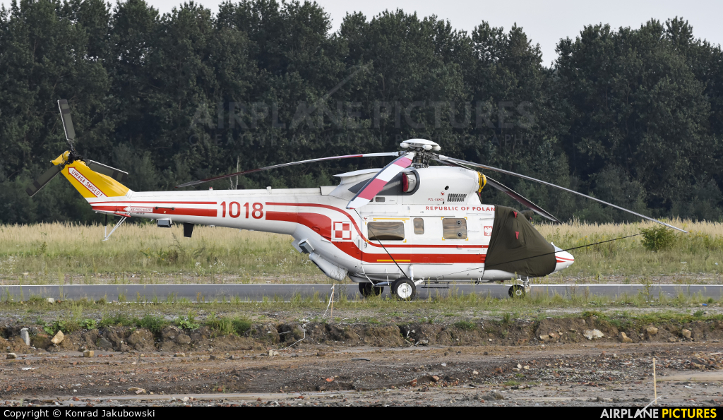 Poland - Air Force 1018 aircraft at Katowice Muchowiec