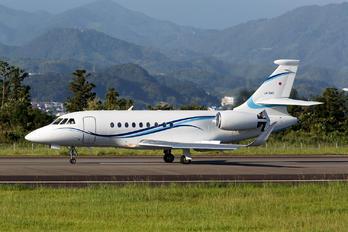 JA16AC - Shizuoka Air Commuter Corporation Dassault Falcon 2000 DX, EX