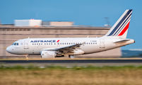 F-GUGC - Air France Airbus A318 aircraft