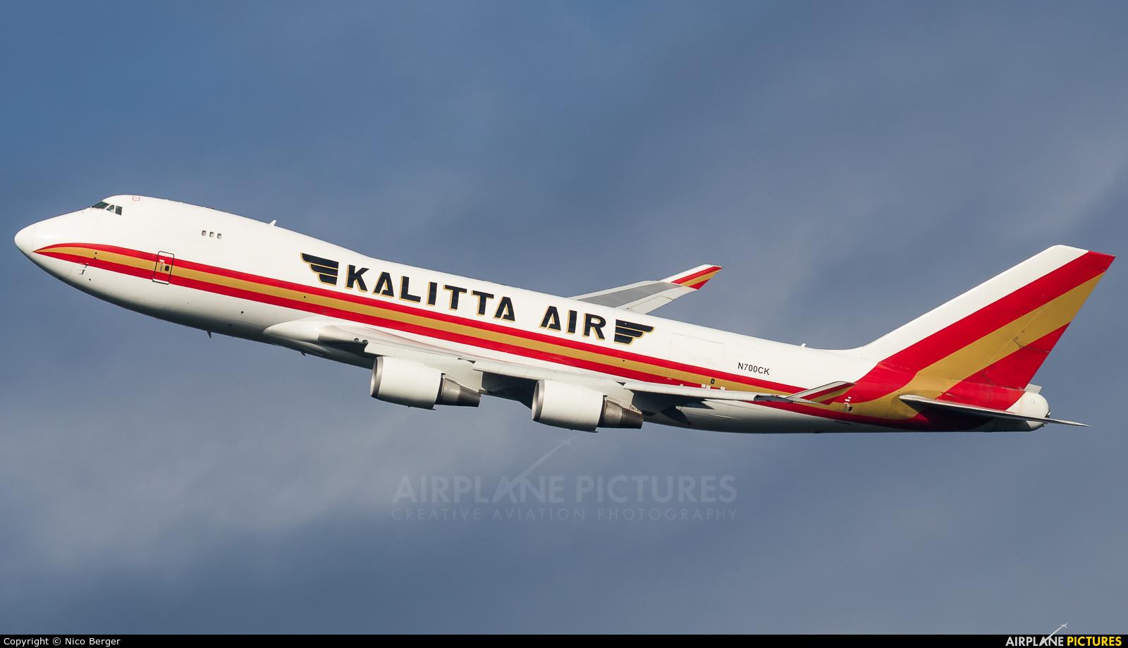 Kalitta Air N700CK aircraft at Frankfurt