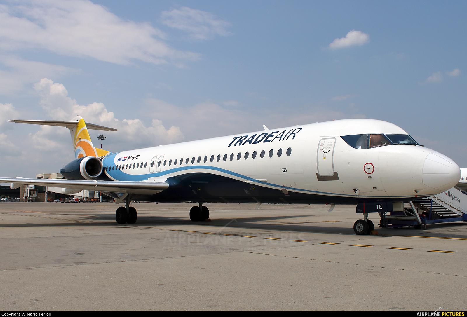 Trade Air 9A-BTE aircraft at Milan - Malpensa