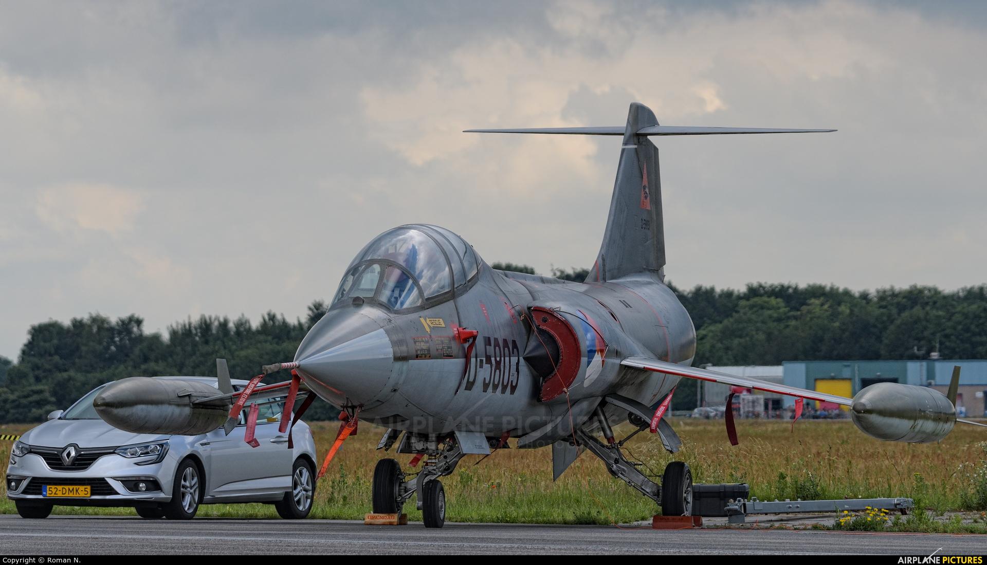 Netherlands - Air Force D-5803 aircraft at Uden - Volkel