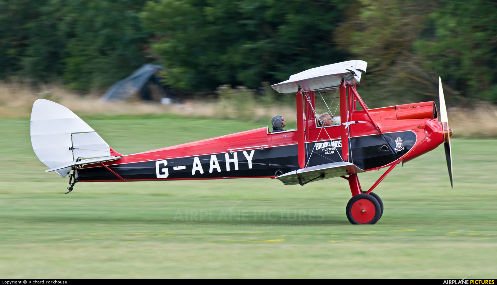Private G-AAHY aircraft at Old Warden