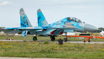 71 - Ukraine - Air Force Sukhoi Su-27 aircraft